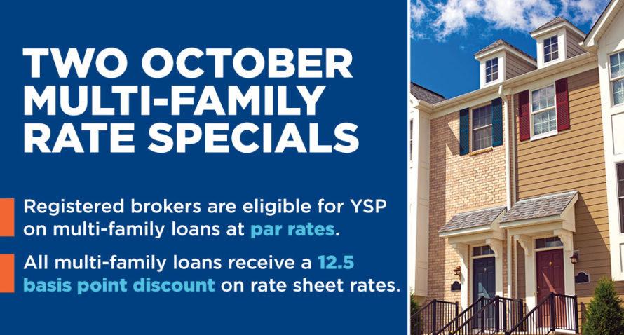 Oct rate specials